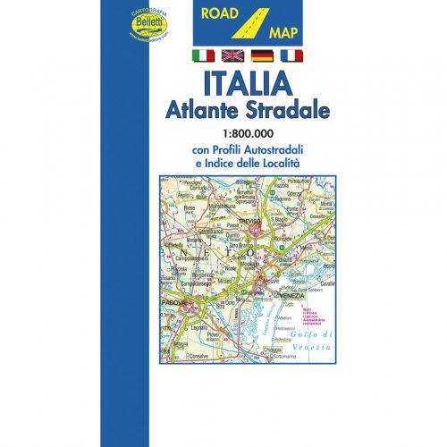 Italia atlante stradale - Belletti Editore A04
