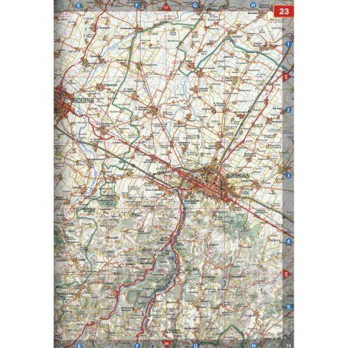 Atlante stradale Italia - Belletti Editore A14