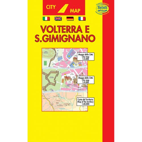 Volterra San Gimignano - Belletti Editore B057