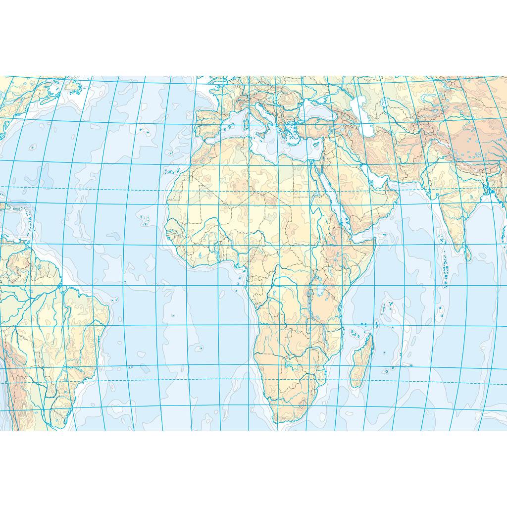 Cartina Muta Mondo Fisica.Mondo Scolastico Da Banco Muta Belletti Editore