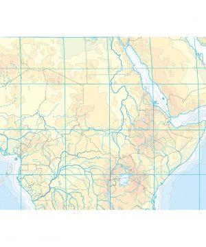 Cartina Muta India Da Stampare.Cartina Africa Fisica Muta