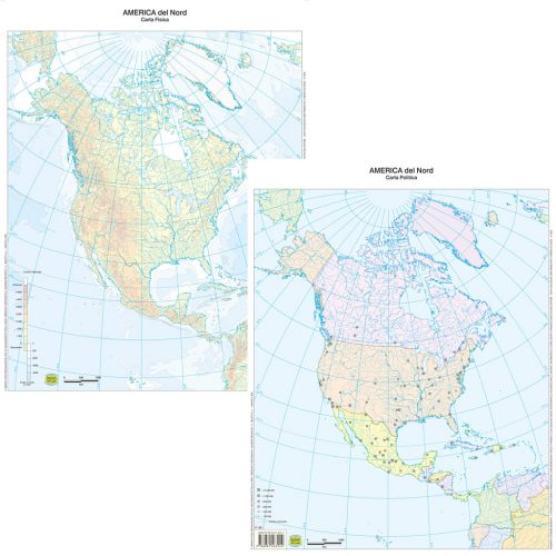 America nord muta - Belletti Editore BS05M