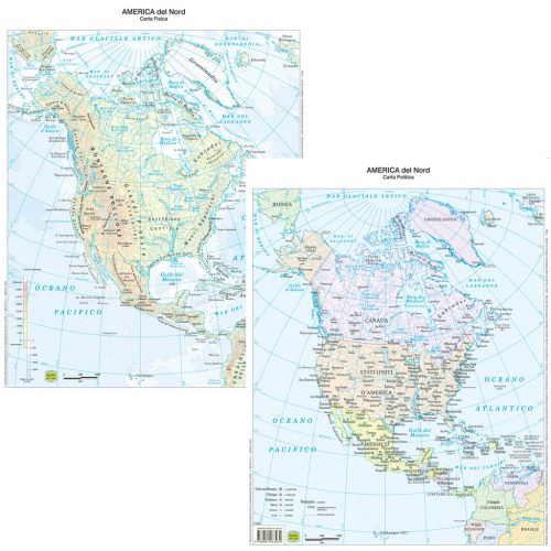 America nord scolastica - Belletti Editore BS05P