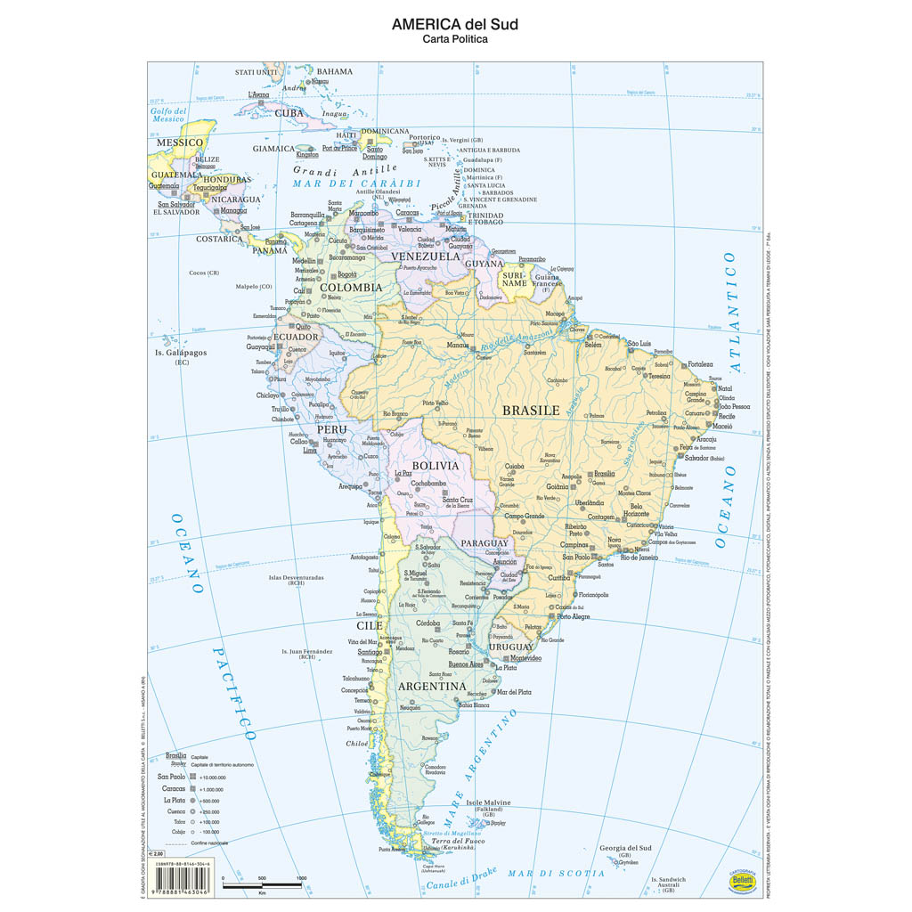 America sud scolastica - Belletti Editore BS06P