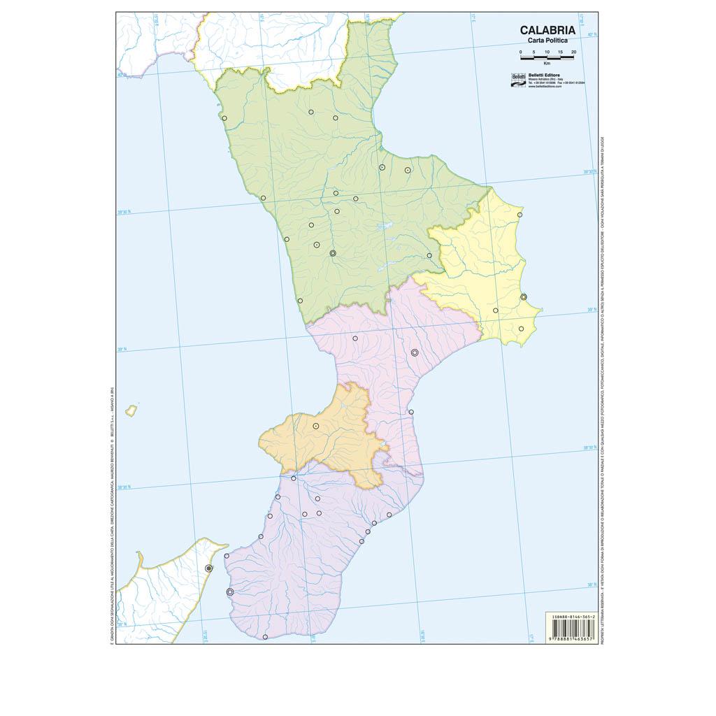 Calabria scolastica - Belletti Editore BS11M