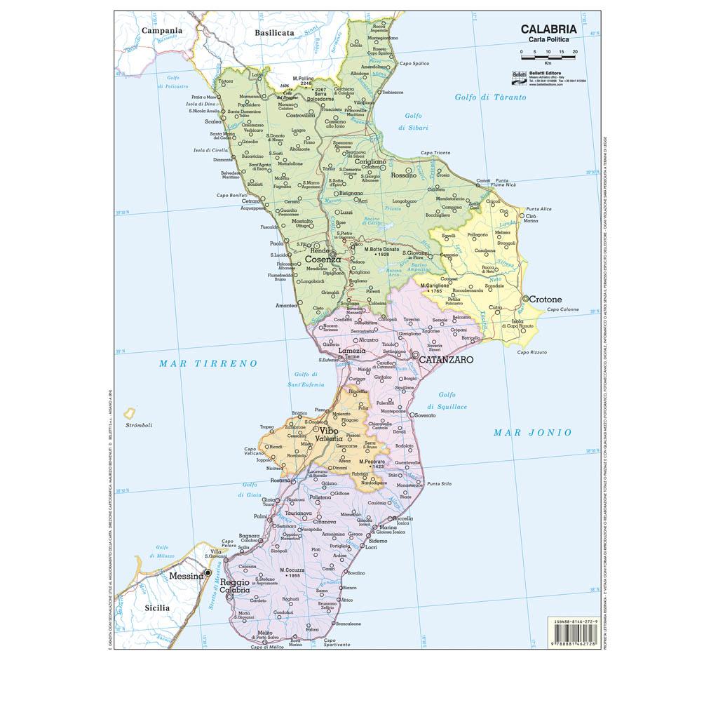 Calabria scolastica - Belletti Editore BS11P