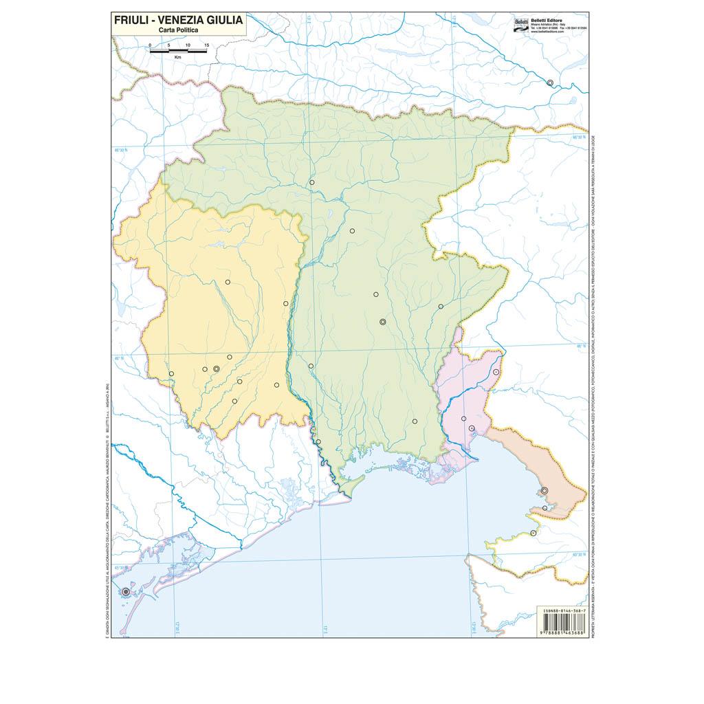 Friuli Venezia Giulia muta - Belletti Editore BS14M