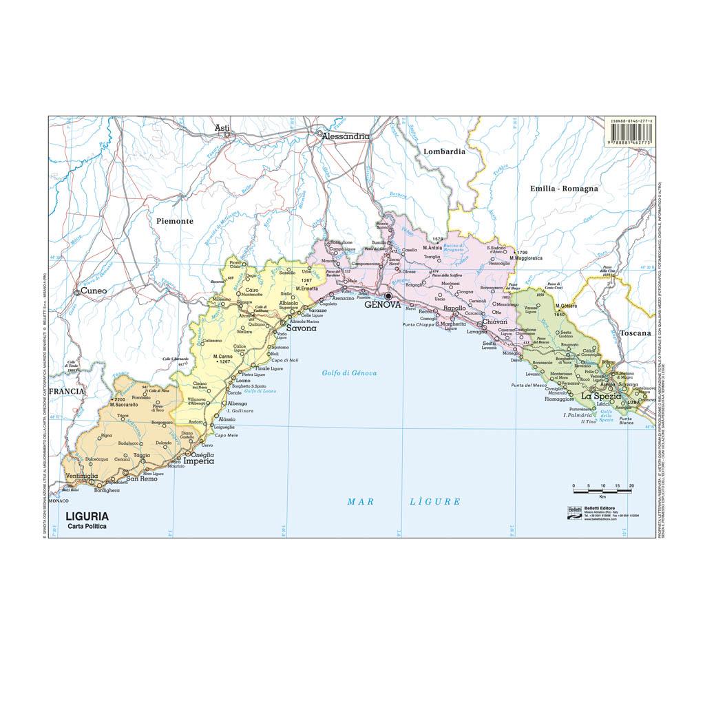 Liguria scolastica - Belletti Editore BS16P