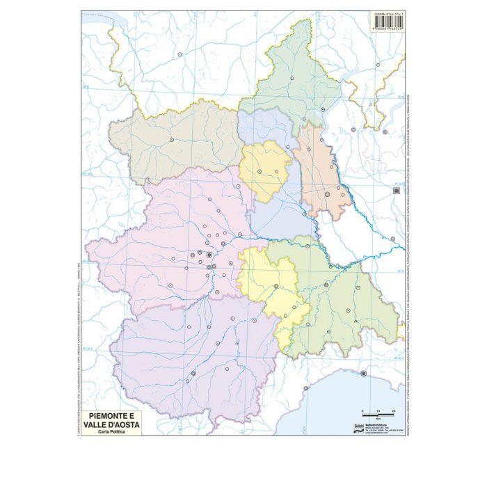 Piemonte Valle Aosta muta - Belleti Editore BS20M