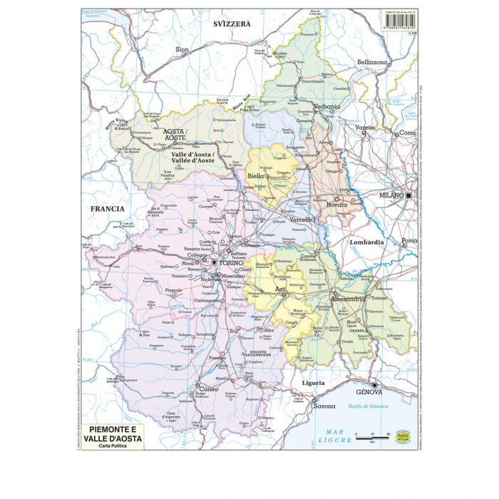 Piemonte Valle Aosta scolastica - Belleti Editore BS20P