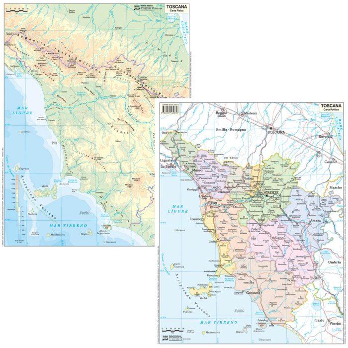 Toscana scolastica - Belletti Editore BS24P