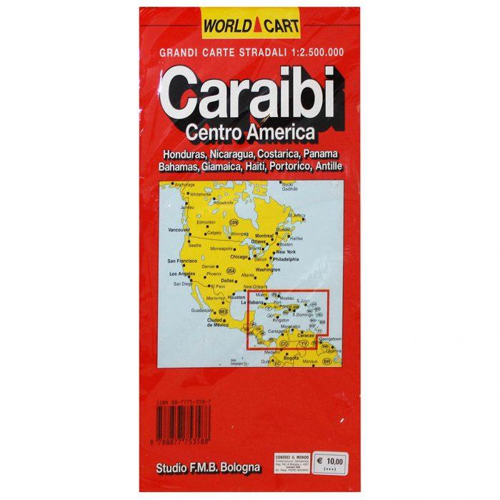 Caraibi Centro America - Belletti Editore FMB057