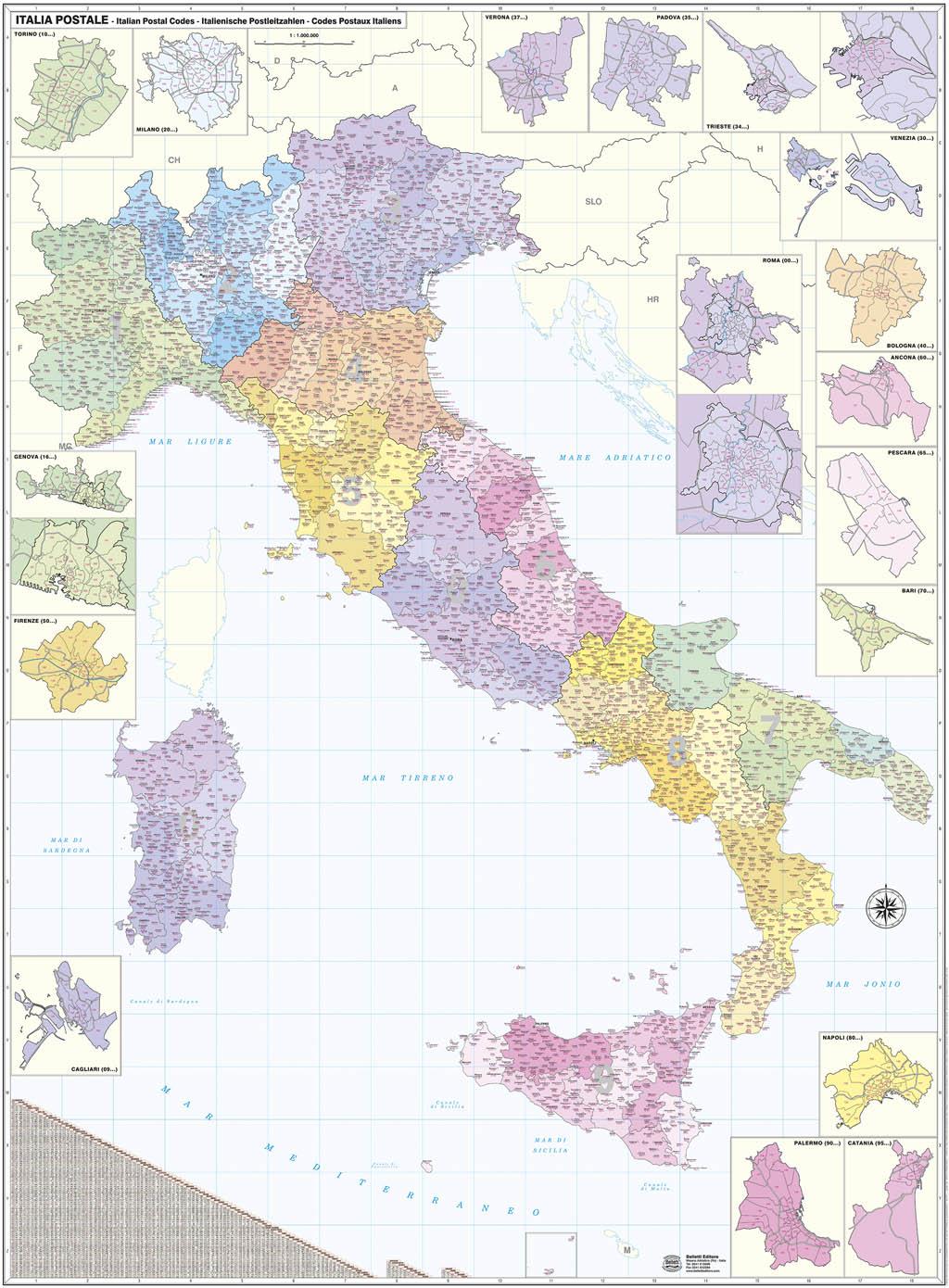 Italia postale - Belletti Editore M04P