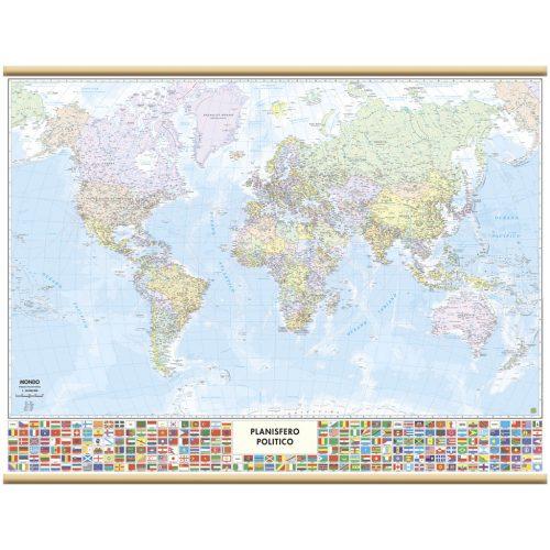 Il Mondo con bandiere - Belletti Editore M09PL