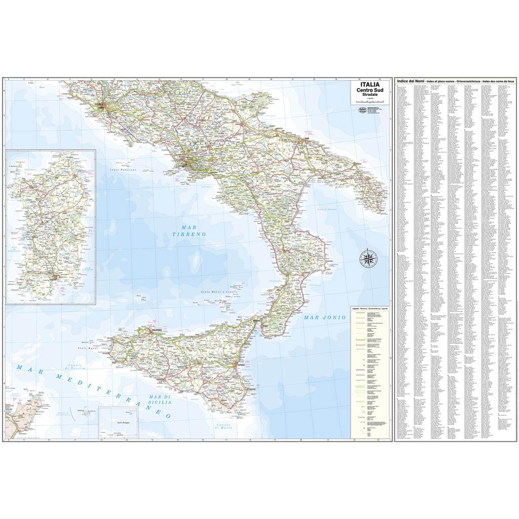 Italia sud - Belletti Editore M11P