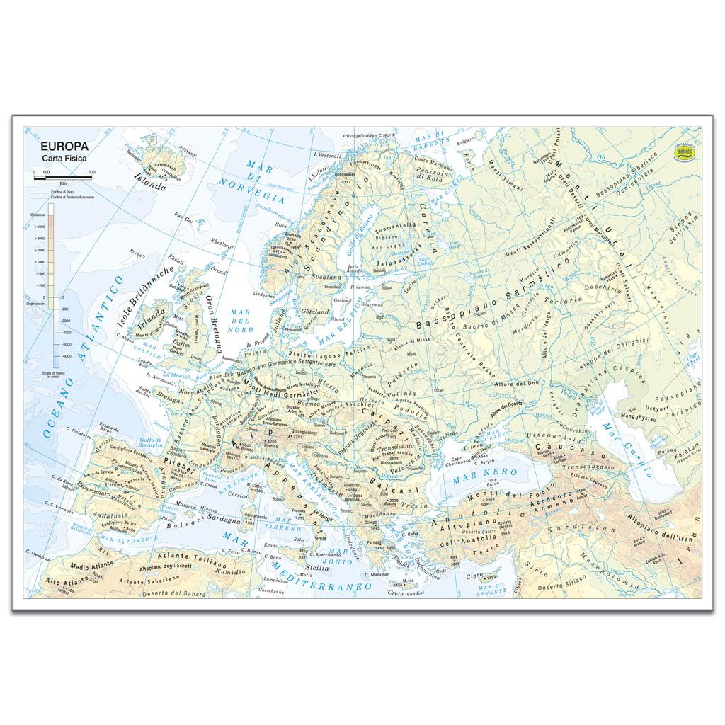 Europa mousepad - Belletti Editore MP06