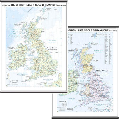 Isole britanniche - Belletti Editore MS11PL