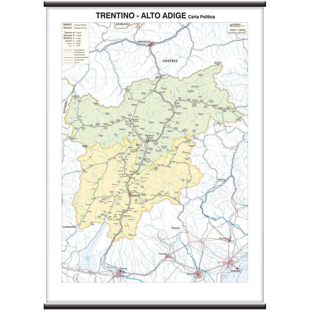 Trentino Alto Adige - Belletti Editore MS29PL