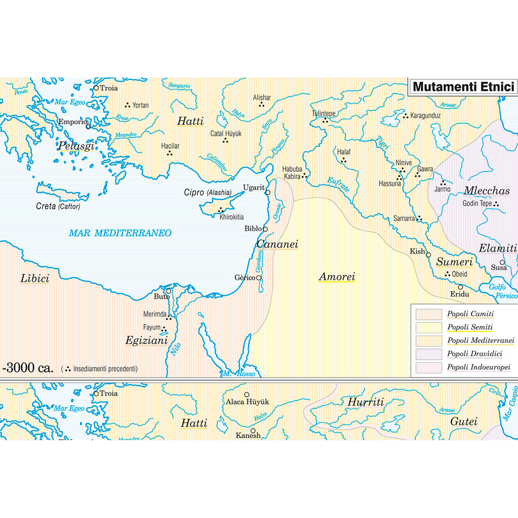 Cartina Muta Creta.Palestina Carta Storica Belletti Editore