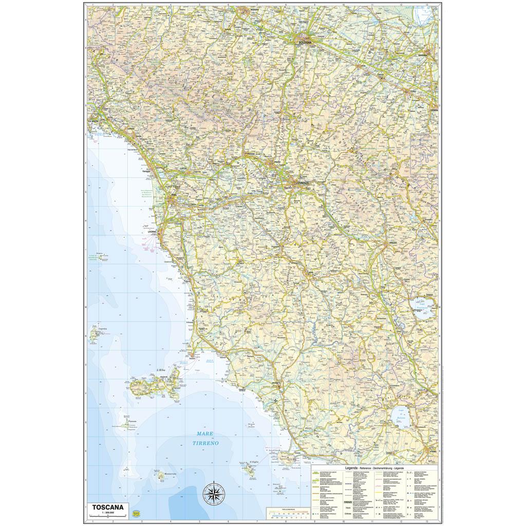 Toscana - Belletti Editore RG10