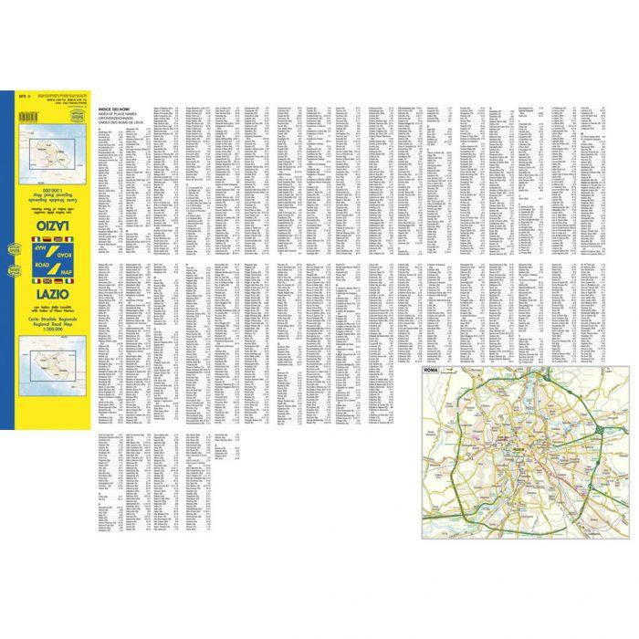 Lazio - Belletti Editore RG12P