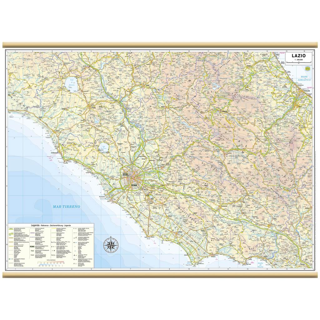 Lazio - Belletti Editore RG12PL