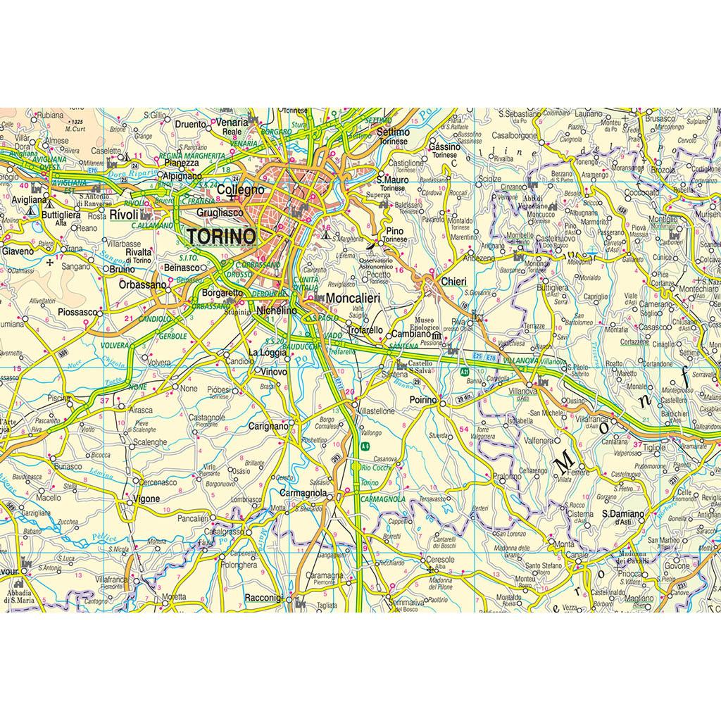 Piemonte Valle Aosta - Belletti Editore RG14PL
