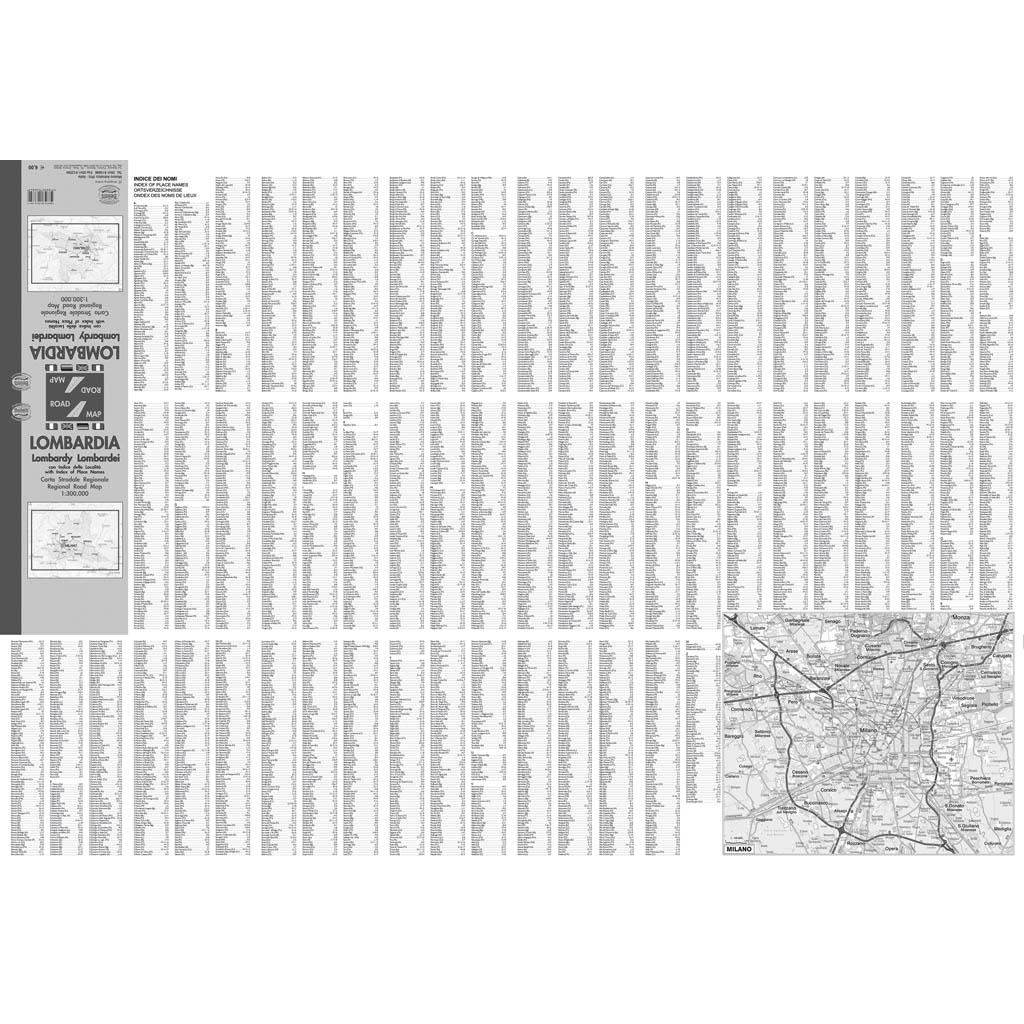 Lombardia - Belletti Editore RG16P