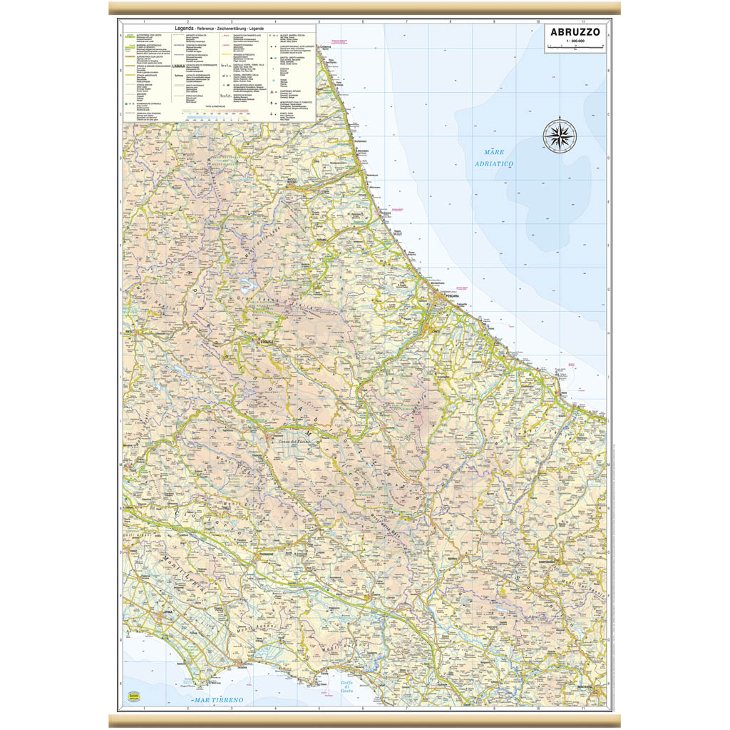 Abruzzo - Belletti Editore RG17PL