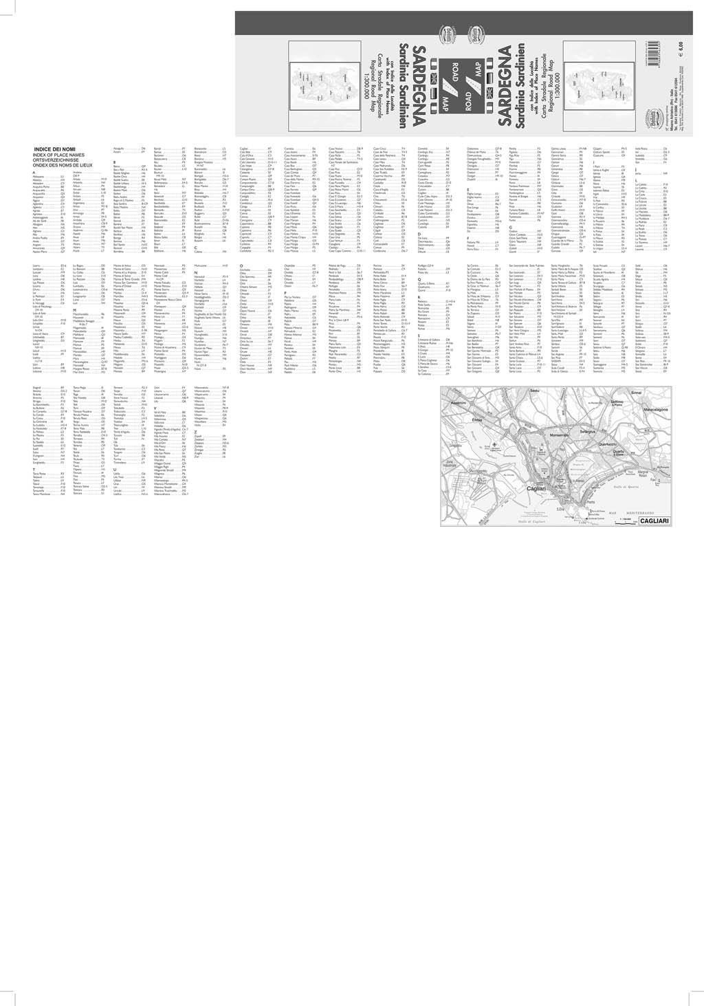 Sardegna - Belletti Editore RG20P