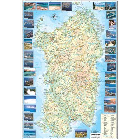 Sardegna spiagge porti - Belletti Editore V228