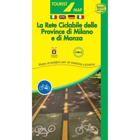 Rete ciclabile Milano - Belletti Editore V235
