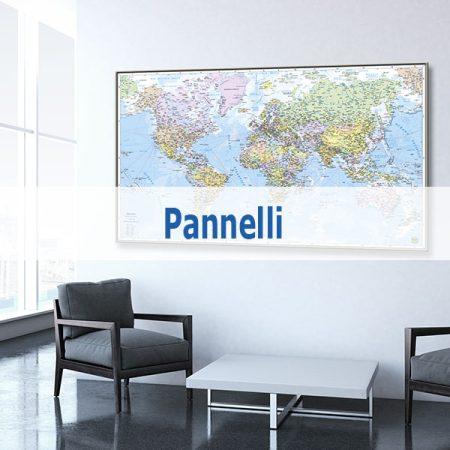 Pannelli e Globi Geografici