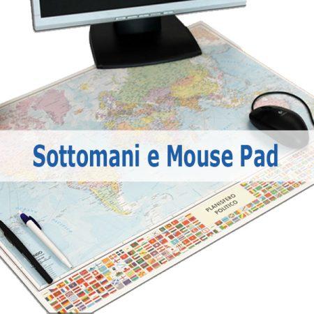 Sottomani e mouse pad