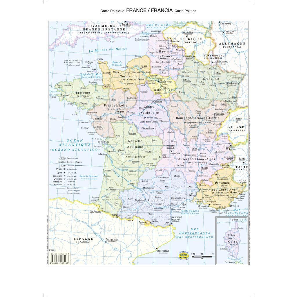 Francia scolastica - Belletti Editore BS29P