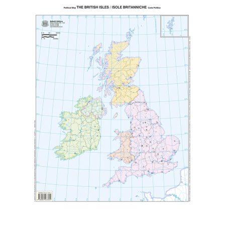 Isole Britanniche muta - Belletti Editore BS31M