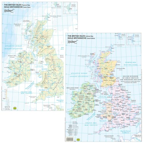 Isole Britanniche scolastica - Belletti Editore BS31P